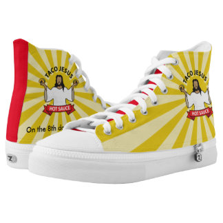 Walk a Mile in our Shoes Printed Shoes