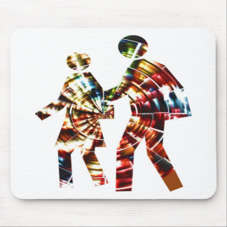Walk and Grow Together Mouse Pad