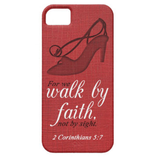 Walk By Faith 2 Corinthians 5:7 Bible Verse Quote iPhone 5 Covers