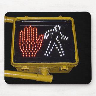 Walk Don't Walk mousepad