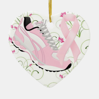 Walk for the Cure - SRF Ceramic Heart Decoration