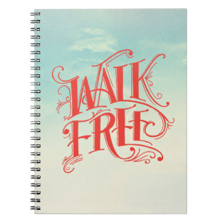 Walk Free Notebook