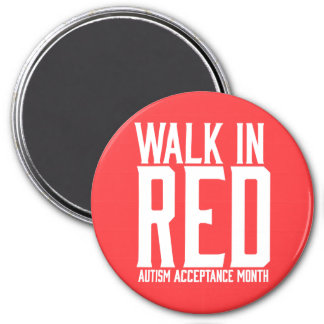 Walk in Red Magnets