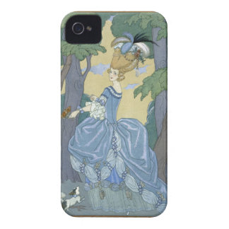 Walk in the Forest, illustration for 'Fetes Galant iPhone 4 Case-Mate Cases