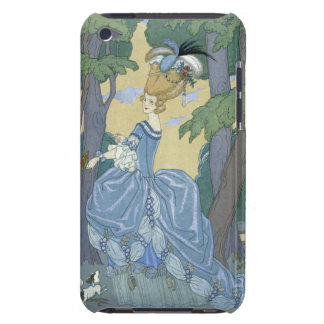 Walk in the Forest, illustration for 'Fetes Galant iPod Touch Cases