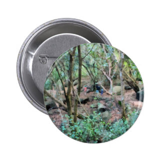 Walk in the woods 6 cm round badge