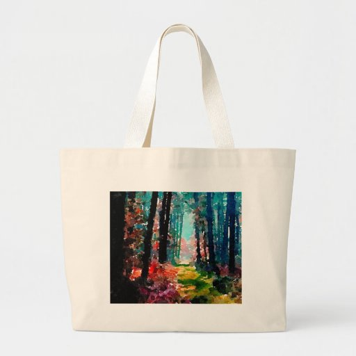 Walk in the Woods Tote Bags