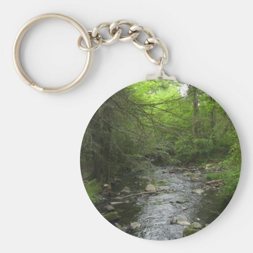 Walk in the Woods Key Chains