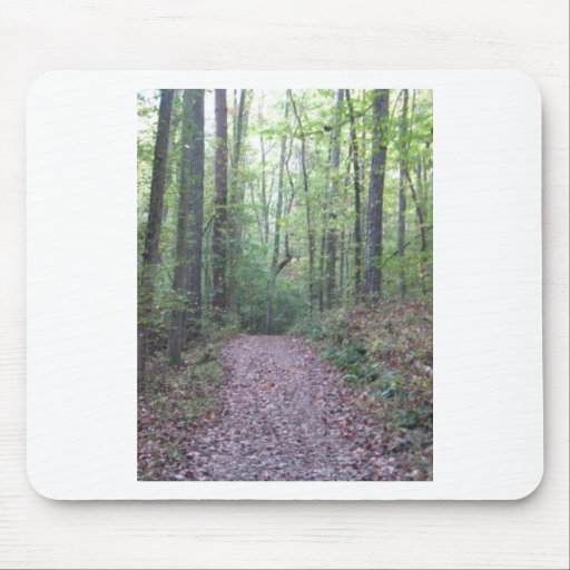 Walk In the Woods Mousepads