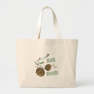 Walk In Woods Canvas Bag