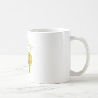 Walk In Woods Basic White Mug