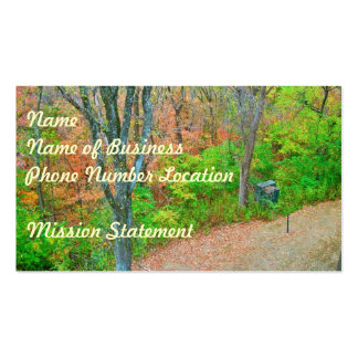 Walk Into The Forest Business Card