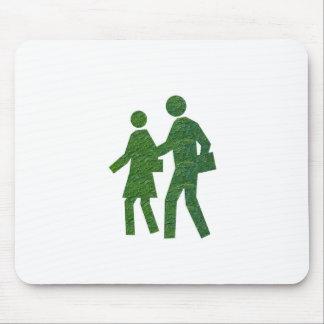 Walk n Talk GREEN Environment nvn40 navinJOSHI Mouse Pad