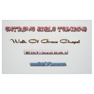 Walk Of Grace Wall Hanging Fabric