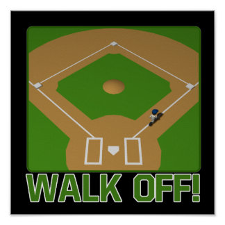 Walk Off Poster