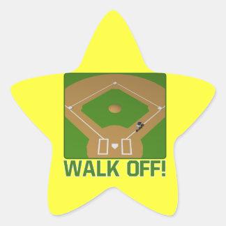 Walk Off Stickers