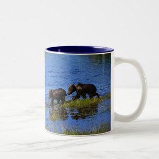 Walk on the Wild Side - Bears Two-Tone Mug