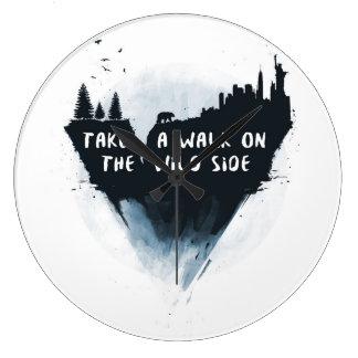 Walk on the wild side clock