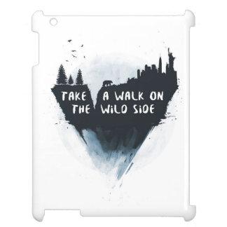 Walk on the wild side iPad case