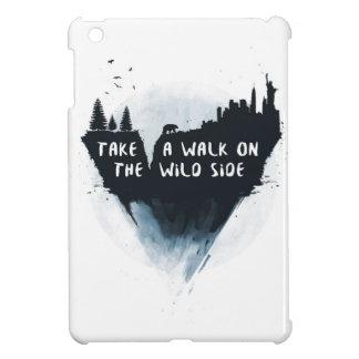 Walk on the wild side iPad mini cases