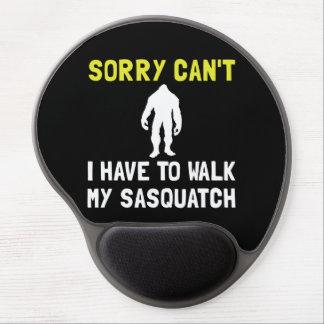 Walk Sasquatch Gel Mouse Pad