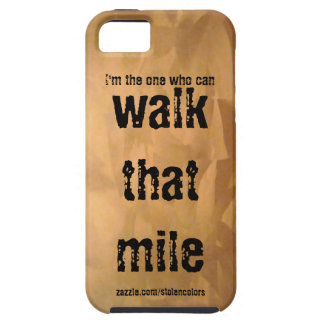 Walk That Mile Case For The iPhone 5