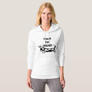 Walk the Hound Basset Hound Hoody