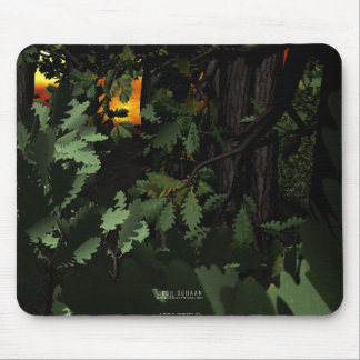 Walk Through The Woods Mouse Pad