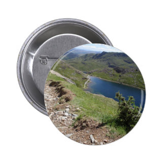 Walk To Snowdon The Highest Mountain In England An 6 Cm Round Badge