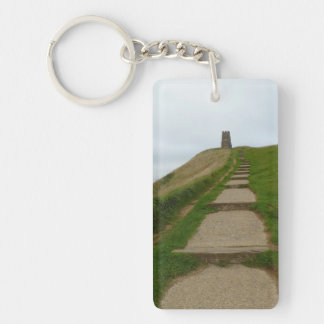 Walk Up The Tor Key Ring