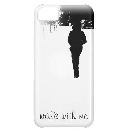 walk with me iPhone cover Cover For iPhone 5C