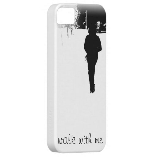 walk with me iPhone cover iPhone 5 Cover