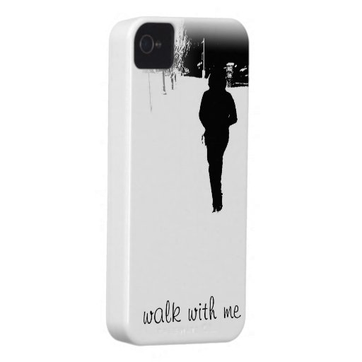 walk with me iPhone cover iPhone 4 Case