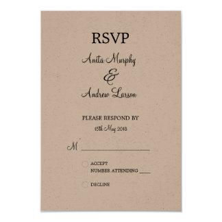 'Walk with Me' RSVP Design Card