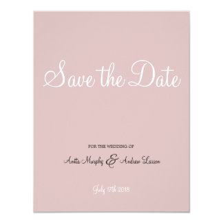 'Walk with Me' Save the Date Design Card