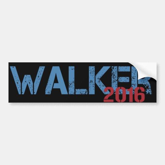 Walker 2016 bumper sticker