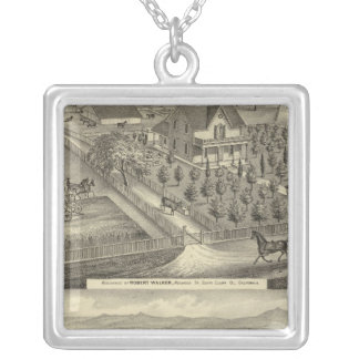 Walker, Ball residences Silver Plated Necklace