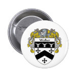 Walker Coat of Arms (Mantled) 6 Cm Round Badge