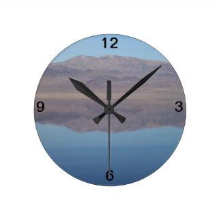 Walker Lake Mirror Image Clock