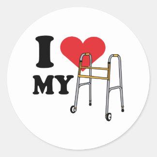 Walker Love Stickers