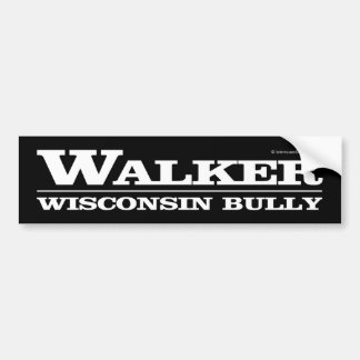 Walker, Wisconsin Bully Bumper Sticker
