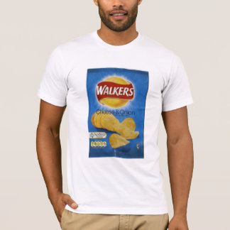 Walkers Cheese & Onion Crisps T-Shirt