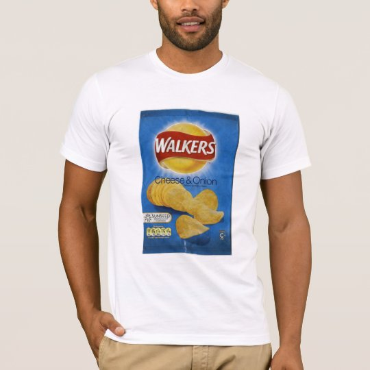 Walkers Cheese & Onion Crisps T-Shirt