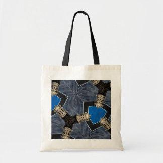 Walkie-Talkie Kaleidoscope Tote Bag