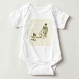 Walkies! Baby Bodysuit