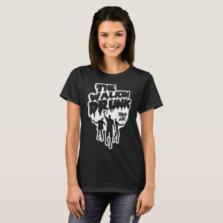 Walkin Drunk Women's dark T-Shirt