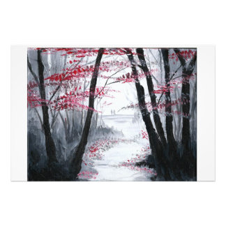 Walking Alone Together Photo Print