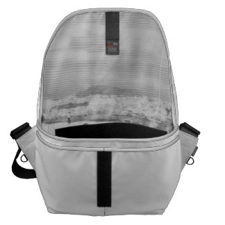 Walking among snow and ice courier bag