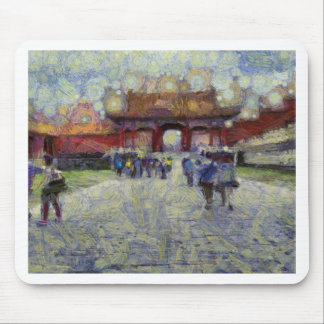 Walking around the Forbidden City Mouse Pad