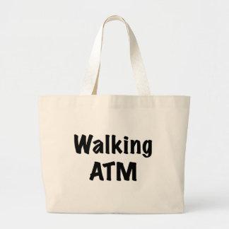 Walking ATM Tote Bag